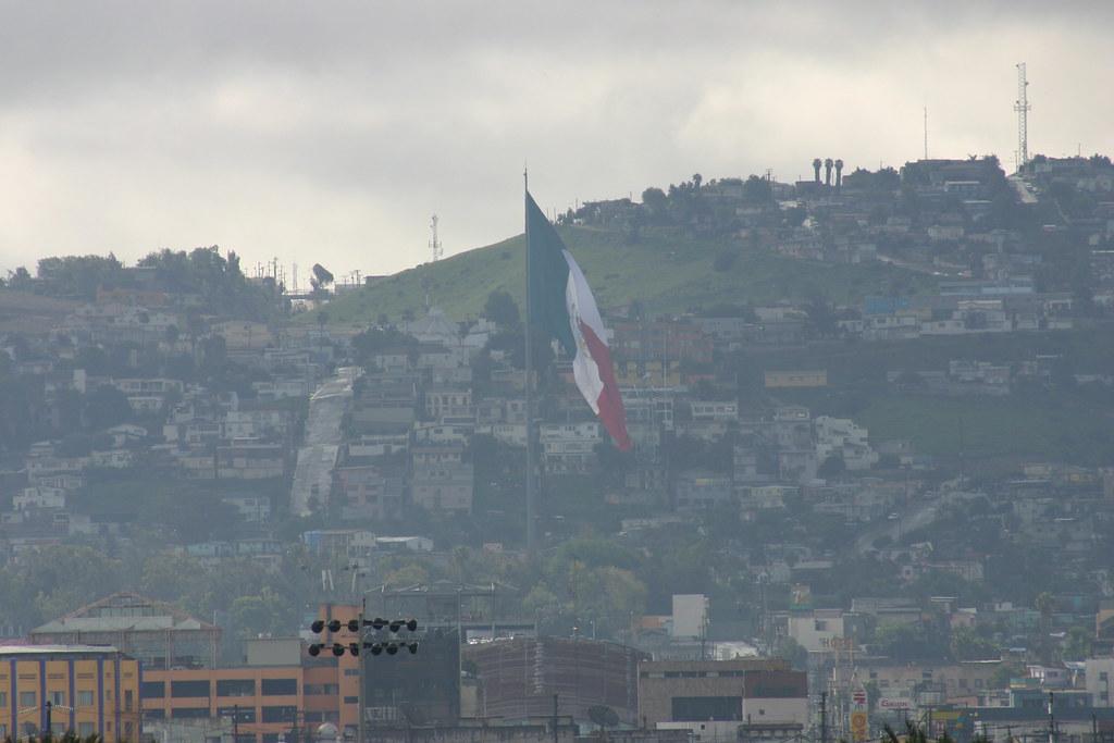 Foto del aire contaminado de Tijuana