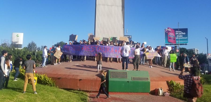 Manifestación por la Crisis Climática en Tijuana, 20 de septiembre2019