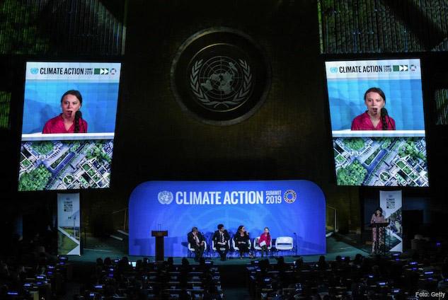 Discurso de Greta Thunberg en la Cumbre del Clima de la ONU, 23 de septiembre,2019